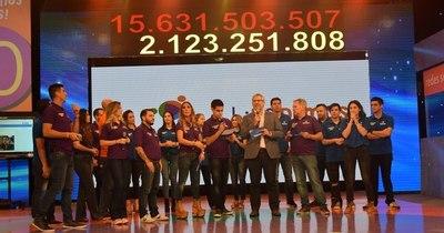 La Nación / Teletón 2020 necesita alcanzar mínimamente G. 15.540.135.118, que es la meta del año pasado