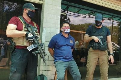 Capturan a importante traficante de armas en CDE