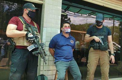 Capturan a presunto jefe logístico del Comando Vermelho en Ciudad del Este