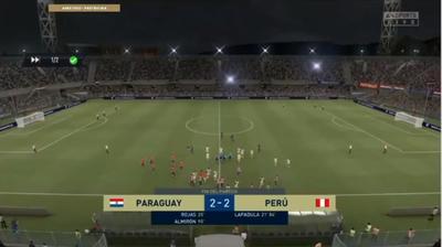 Igualdad en el primer testeo entre Paraguay y Perú en esports