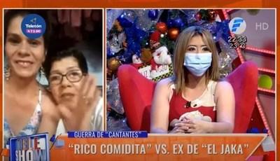 La mamá de Rico Comidita enfrentó a Aideé Álvarez