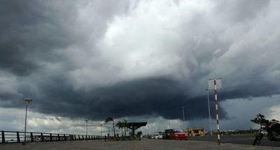 Emiten alerta meteorológica para varios departamentos