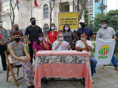 """Convocan a movilización contra """"stronismo vigente"""" por Día de los DDHH"""