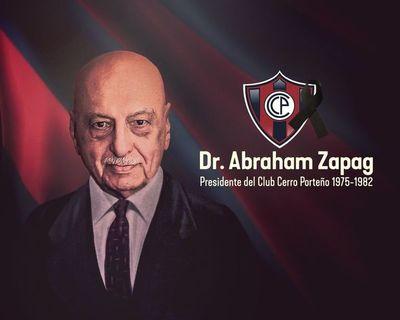 Falleció ex presidente de Cerro Porteño