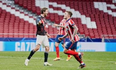 HOY / El campeón iguala a duras penas con Atlético Madrid