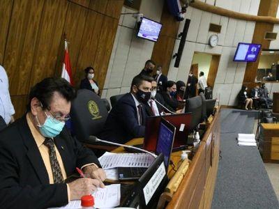 """Alliana asegura que senadores buscan """"dar golpe blando"""" a gobierno de Abdo"""