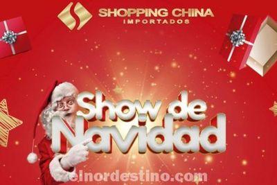 El Show de Navidad llegó y muchas promociones te esperan desde hoy al 24 de Diciembre en Shopping China Importados