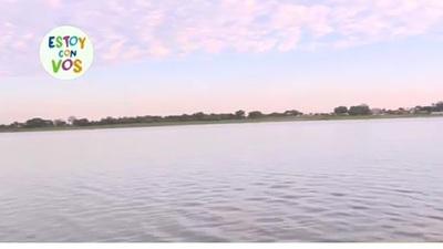 El Río Paraguay bajó siete centímetros