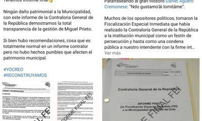 Candidatos de Prieto hacen campaña con informe de Contraloría