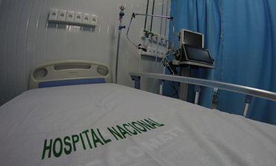 El Hospital Nacional de Itauguá al tope con un 90% de ocupación de camas