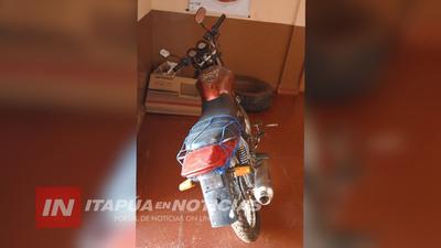 A PUNTA DE CUCHILLO QUISO OBLIGAR AL GOMERO A REPARAR SU MOTOCICLETA