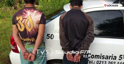 Detienen a menores de edad y recuperan objetos denunciados como hurtados