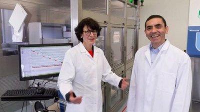 """BioNTech, el emprendimiento de dos inmigrantes que """"ganó"""" la carrera por la vacuna contra el Covid-19"""