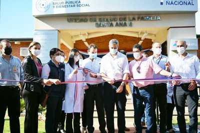 Abdo inaugura Unidades de Salud Familiar en Alto Paraná