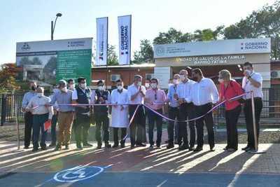 Gobierno inaugura 5 nuevas Unidades de Salud Familiar en Alto Paraná
