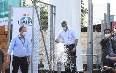 Habilitan dos nuevos sistemas de agua en CDE y Hernandarias