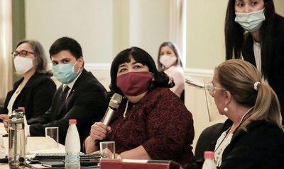 Diputados aprobó la interpelación a la ministra Teresa Martínez