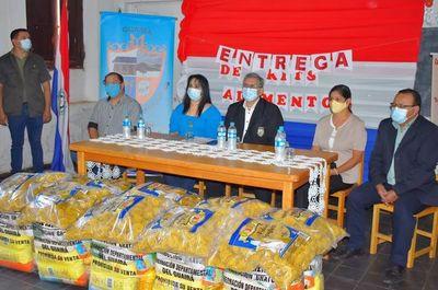 Entregan último kit de alimentos a alumnos del Guairá
