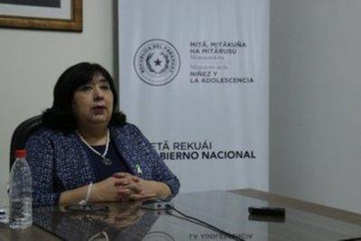 """Habrían """"cuestiones políticas"""" detrás del rechazo al Plan de la Niñez, según ministra"""