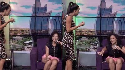 """HOY / Helem Roux atropella programa en vivo y estalla contra Navila Ibarra: """"Siempre fuiste mala amiga"""""""