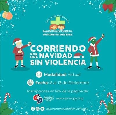 """Crónica / CORRIDA VIRTUAL: """"Corriendo por una Navidad Sin Violencia"""""""