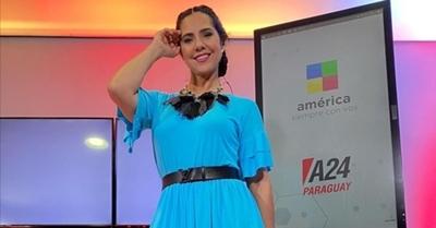 Norita Rodríguez realizó el challenge de la botella