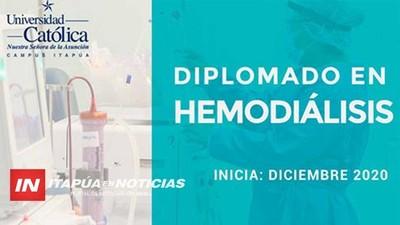UCI PRESENTA DIPLOMADO DE HEMODIÁLISIS PARA PROFESIONALES DE ENFERMERÍA