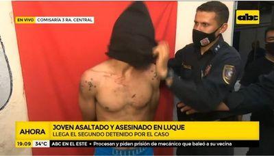 Dos detenidos por asalto y asesinato a joven en Luque