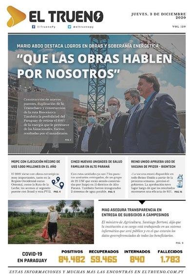 E-paper 03 de Diciembre 2020