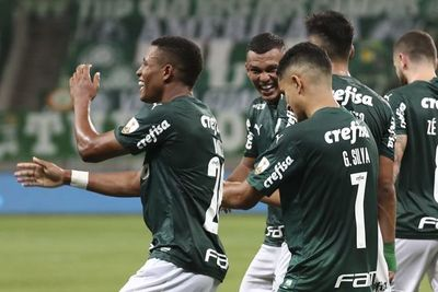 Palmeiras se mete a cuartos de Libertadores