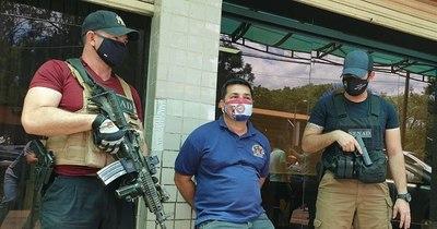 La Nación / Tráfico de arma: jueza ordenó prisión en la Senad de fiscalizador de Prieto