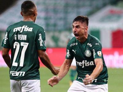 Palmeiras aplasta a Delfín y se inscribe en cuartos