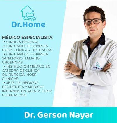 El doctor va a tu casa