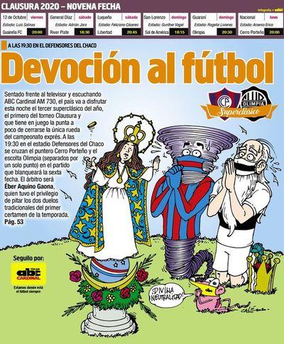 Devoción al fútbol