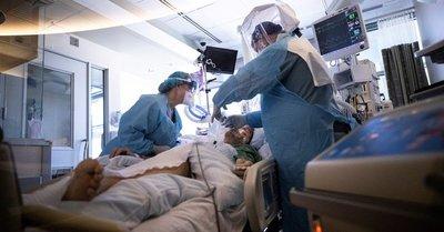 EEUU alcanzó el récord de 100.000 personas hospitalizadas por coronavirus