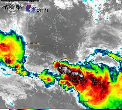 Lluvias y tormentas podrían intensificarse