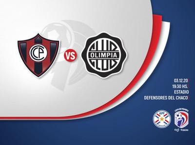 Cerro Porteño y Olimpia reeditan otra versión del Super Clásico