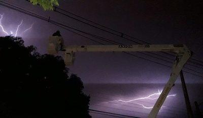 ANDE activa nuevo protocolo para atender cortes durante tormentas