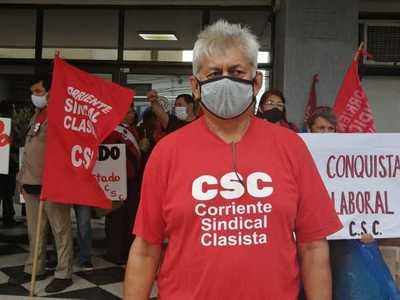 Corriente Sindical Clasista exige el pago de aguinaldo para trabajadores suspendidos