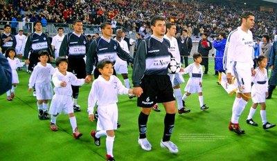 Hace 18 años, Olimpia chocaba ante los 'Galácticos' del Real Madrid