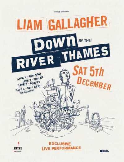 Este sábado vuelve Liam Gallagher con concierto virtual