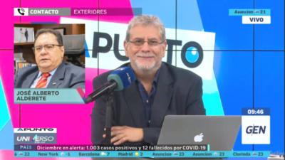 """HOY / José Alberto Alderete, dirigente de la ANR: """"Concordia Colorada goza de muy buena salud"""""""