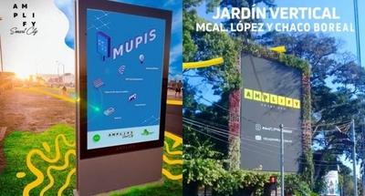 HOY / Los Mupis: Asunción luce mobiliarios urbanos con alta tecnología