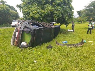 Fatal accidente se cobra la vida de una mujer en Horqueta