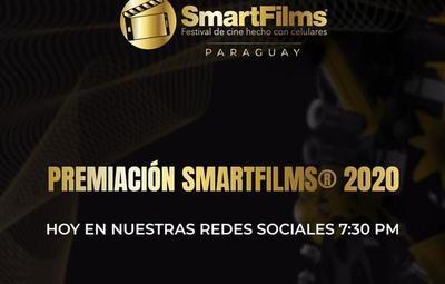 Esta noche: Gala de premiación de SmartFilms Paraguay