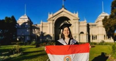 La Nación / Paraguaya sobresaliente: relatora de tribunal logró máster en Derecho en Australia