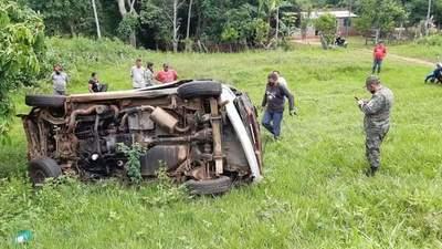 Accidente de tránsito se cobra la vida de una septuagenaria