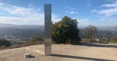 Apareció un tercer monolito misterioso... ahora en California