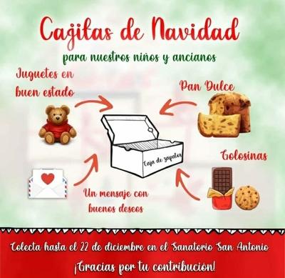 Concepción: Organizan colecta solidaria por navidad
