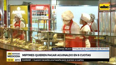 Las mipymes quieren pagar aguinaldo hasta en seis cuotas